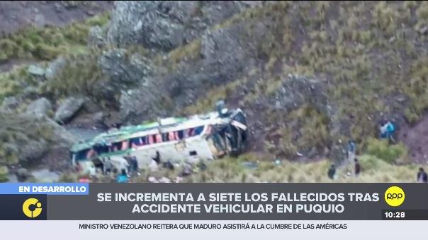 Las autoridades reportaron 11 fallecidos en el accidente.