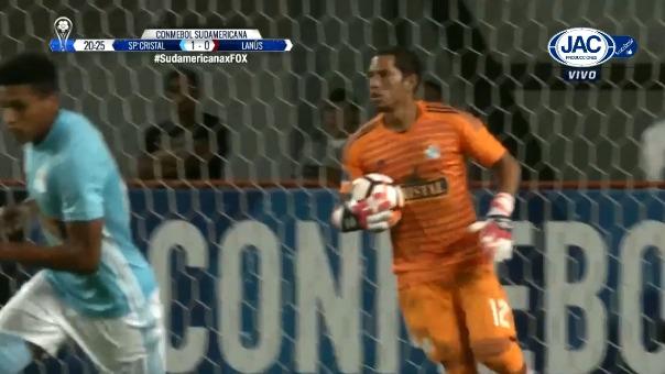 Sporting Cristal necesitaba un 2-0 para avanzar a la otra etapa de la Copa Sudamericana.
