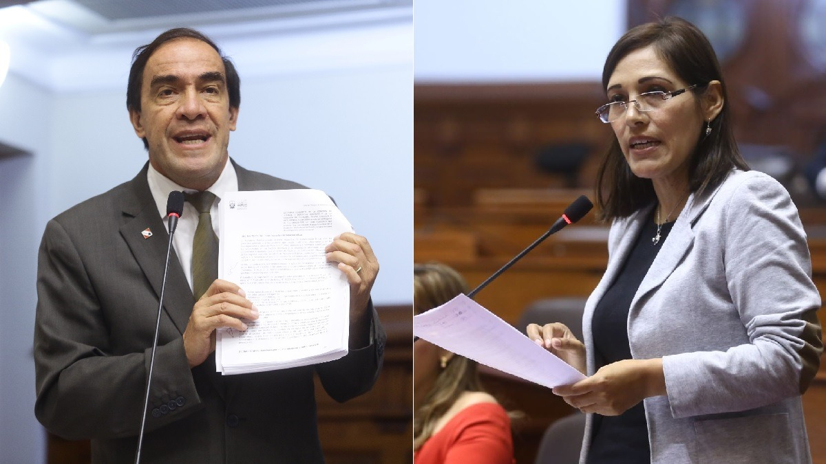 Así fue el incidente en el Congreso entre Lescano y Salazar.