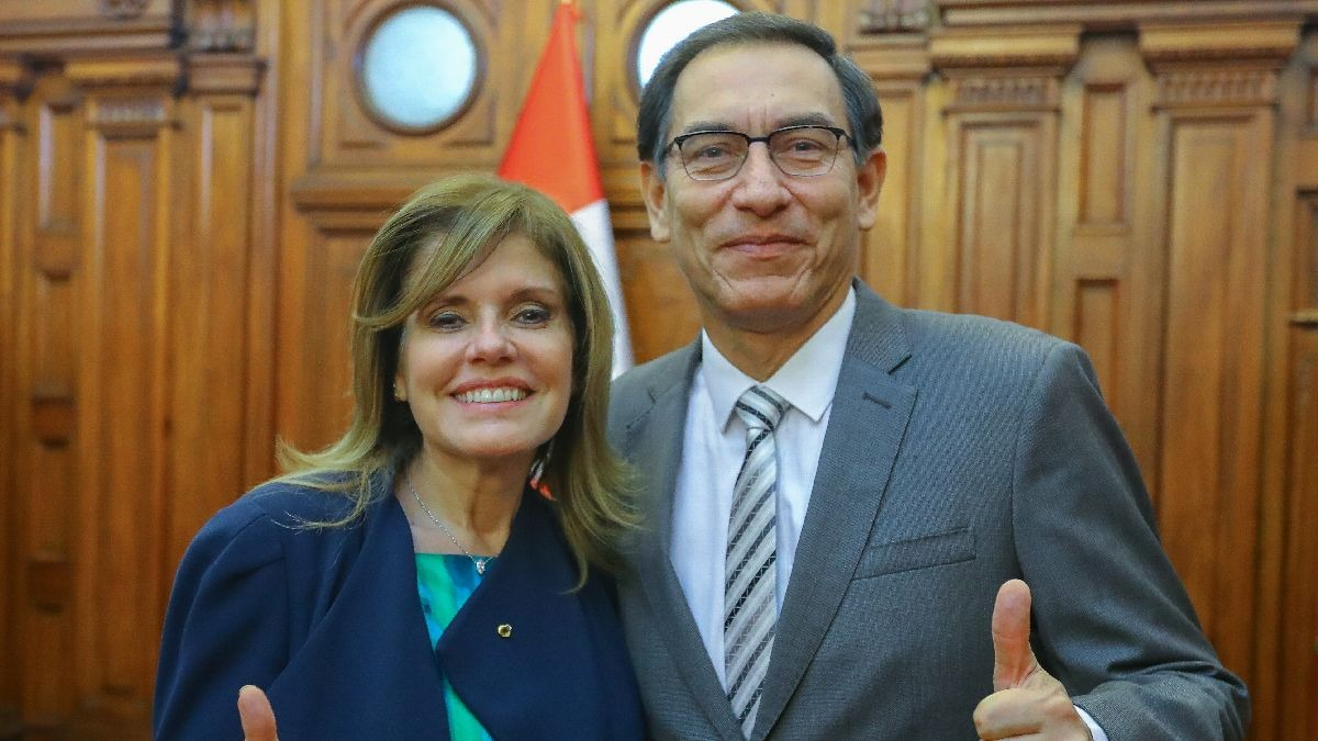 Mercedes Aráoz y Martín Vizcarra son los vicepresidente de PPK.