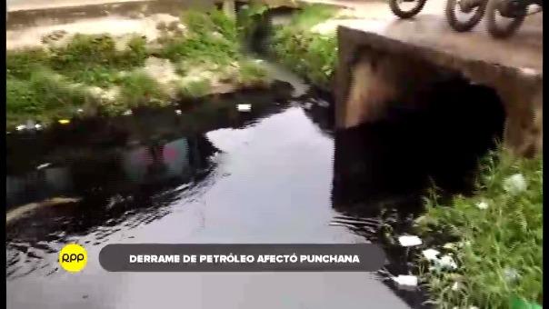 La rotura de tubería de la planta de Petroperú en Iquitos afectó las aguas de la zona con la preocupación que llegara al río Nanay.