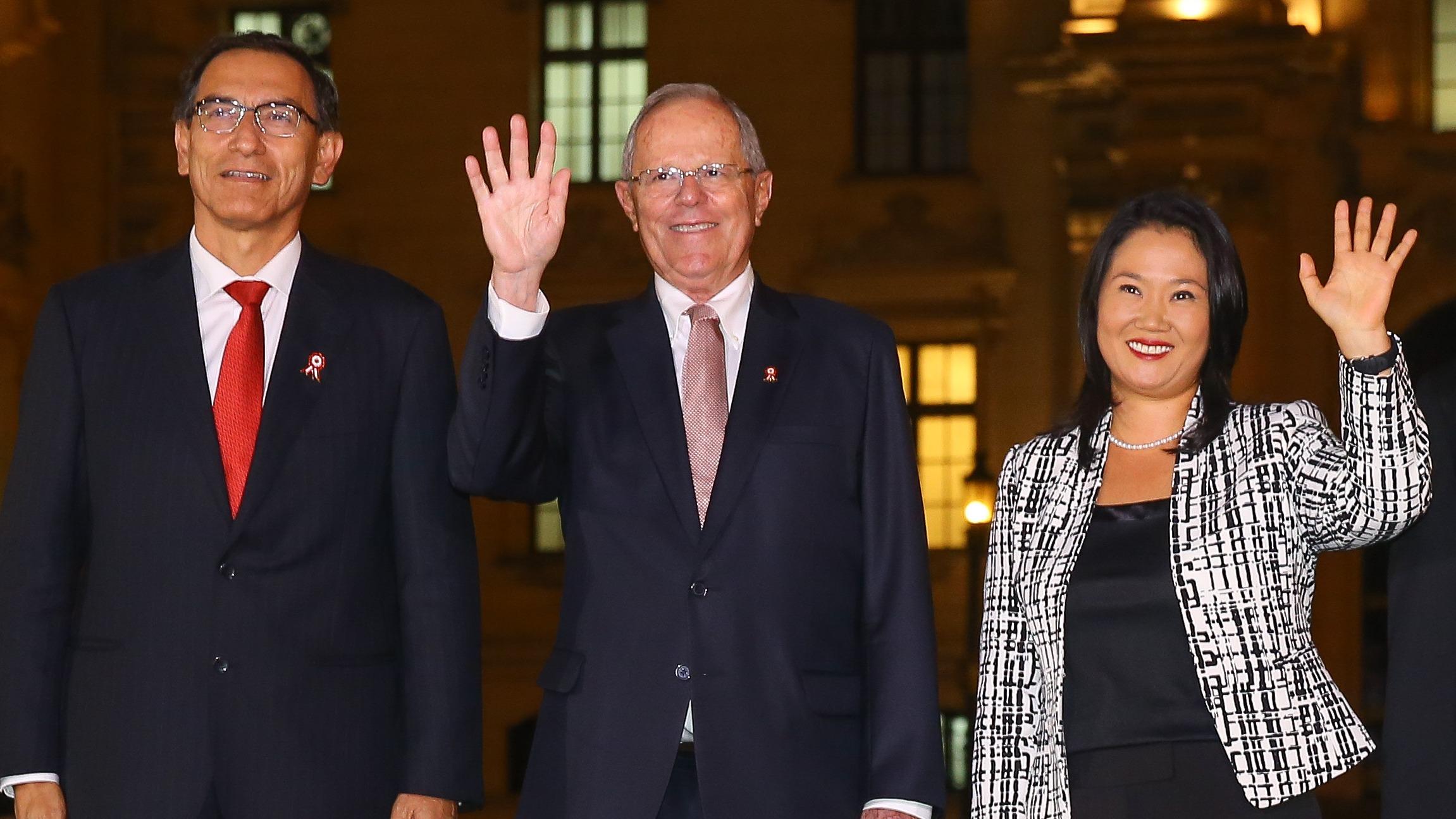 Keiko Fujimori dijo que respetará el orden constitucional.