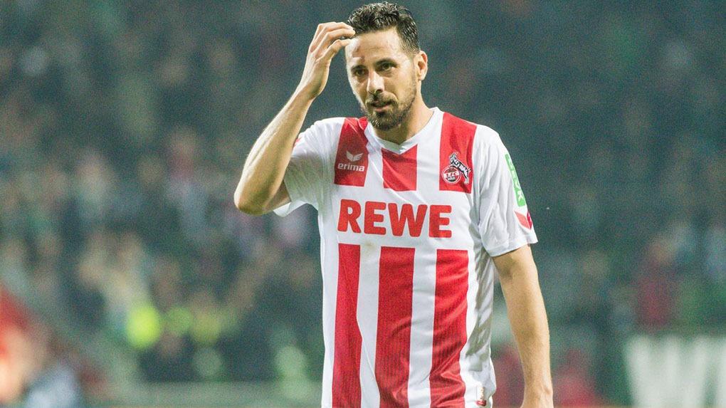 Claudio Pizarro enfrentó al Bremen por primera vez desde su llegada al Colonia.