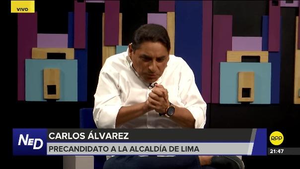 Carlos Álvarez dijo que la actual coyuntura política está que nutre las imitaciones de sus personajes políticos.