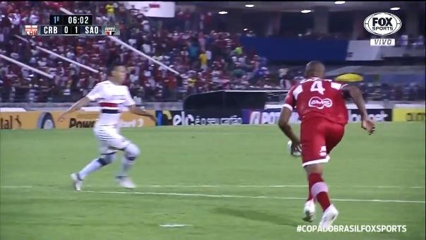 Sao Paulo avanza en la Copa de Brasil.