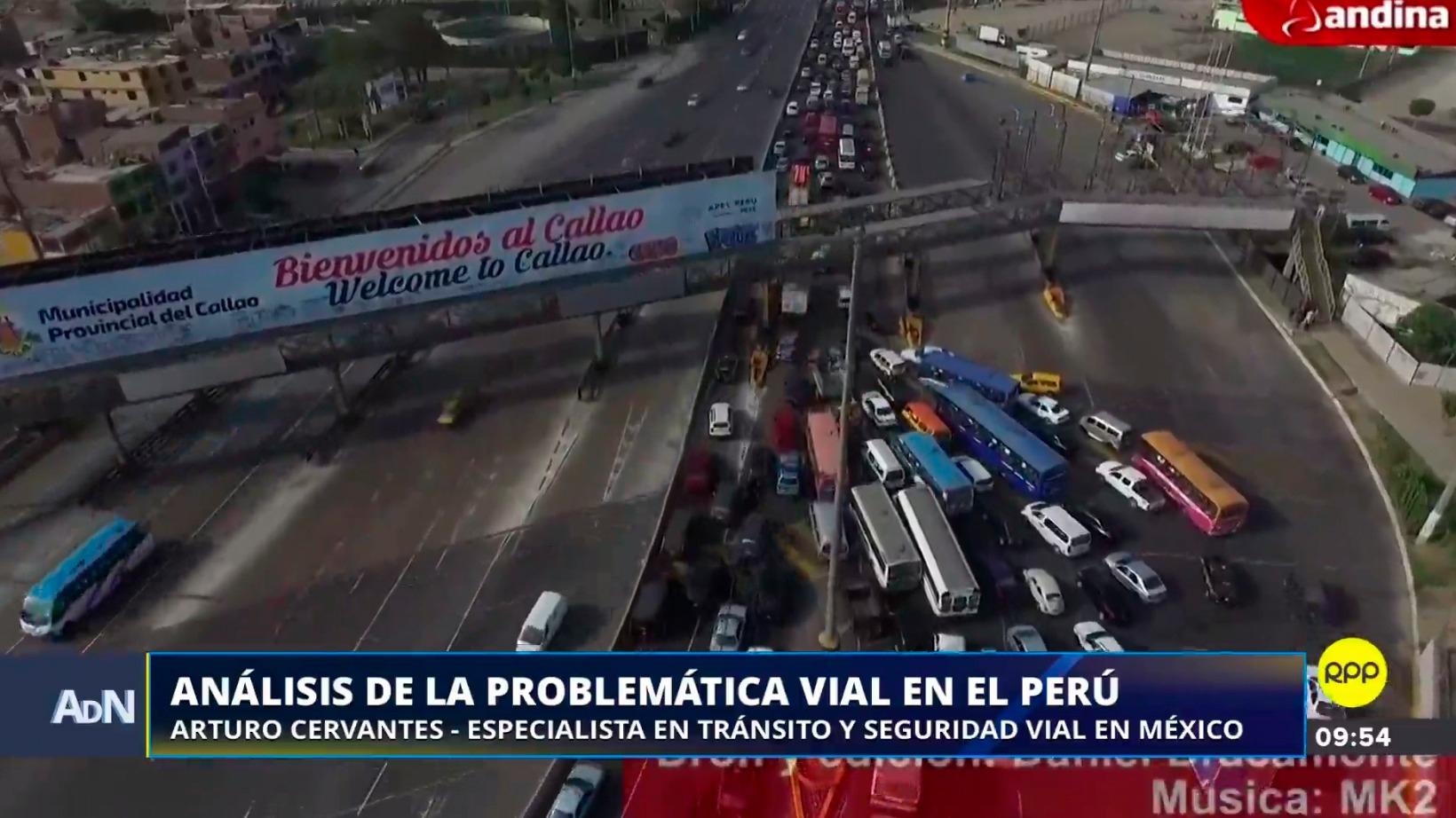 El caos vehicular es uno de los problemas de la ciudad de Lima