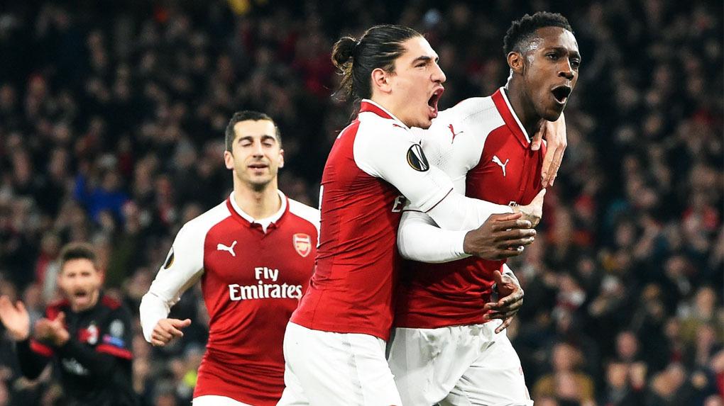 El Arsenal vence al Milan y se mete en cuartos de la Europa League.
