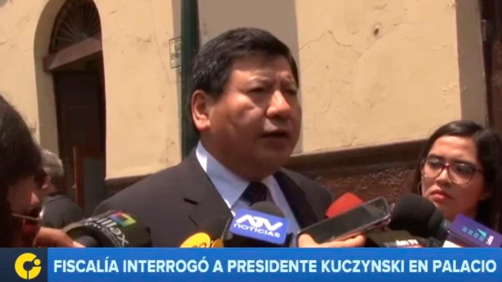 Roberto Su se pronunció luego del interrogatorio a PPK en el marco de la investigación a Toledo.