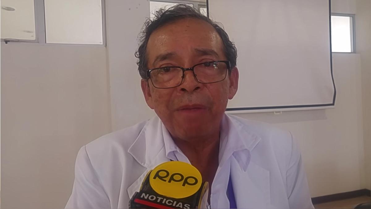 Decano del Colegio Médico de Lambayeque.