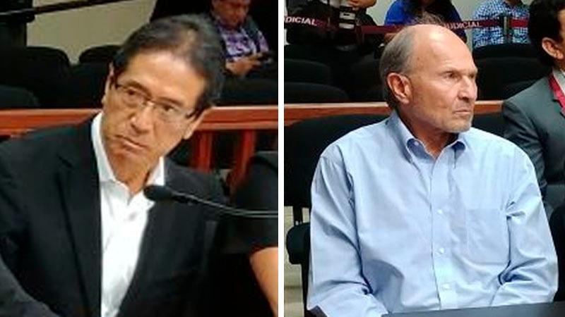 El fiscal sustentó el pedido de impedimento de salida del país contra Jaime Yoshiyama, Augusto Bedoya CAmere y Jorge Briceño que evaluará el juez Richard Concepción Carhuancho.