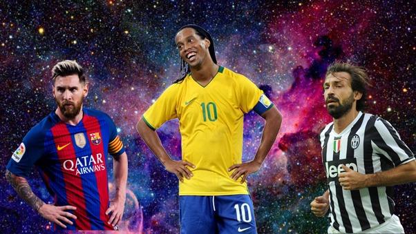 Ronaldinho hizo historia con la camiseta de Barcelona.
