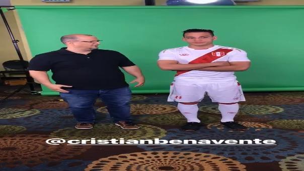 Cristian Benavente fue citado para los amistosos ante Croacia e Islandia.
