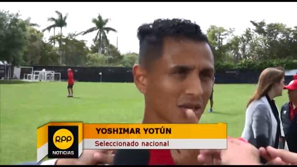 Yoshimar Yotún juega en la MLS y conoce bien los campos estadounidenses.