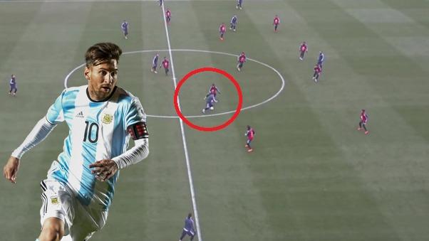 Lionel Messi es el capitán de la Selección de Argentina.