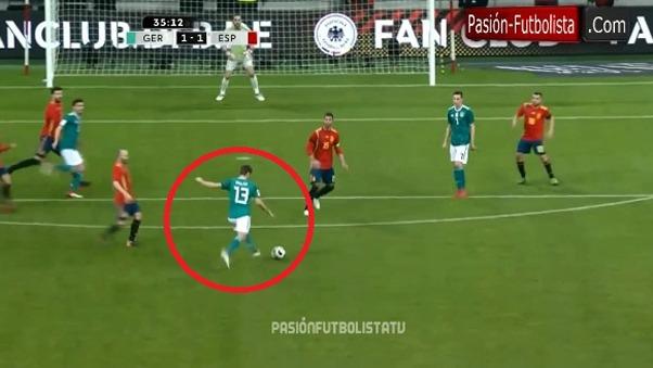 Thomas Müller lleva 10 goles en los Mundiales.