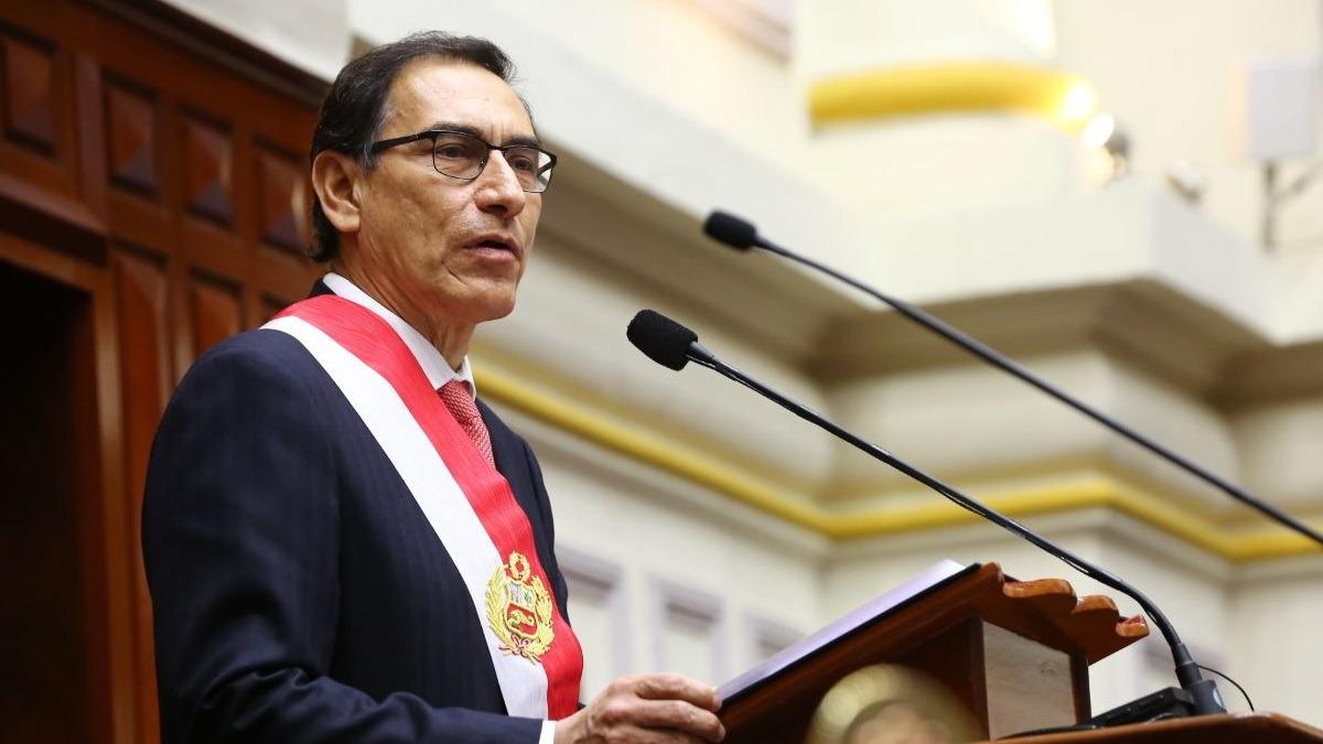 Martín Vizcarra ofreció su primer discurso tras asumir la Presidencia.