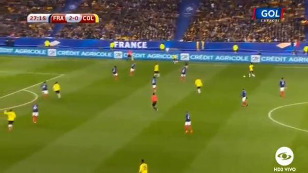 Francia empezó dominando, pero en el segundo tiempo la historia cambió.