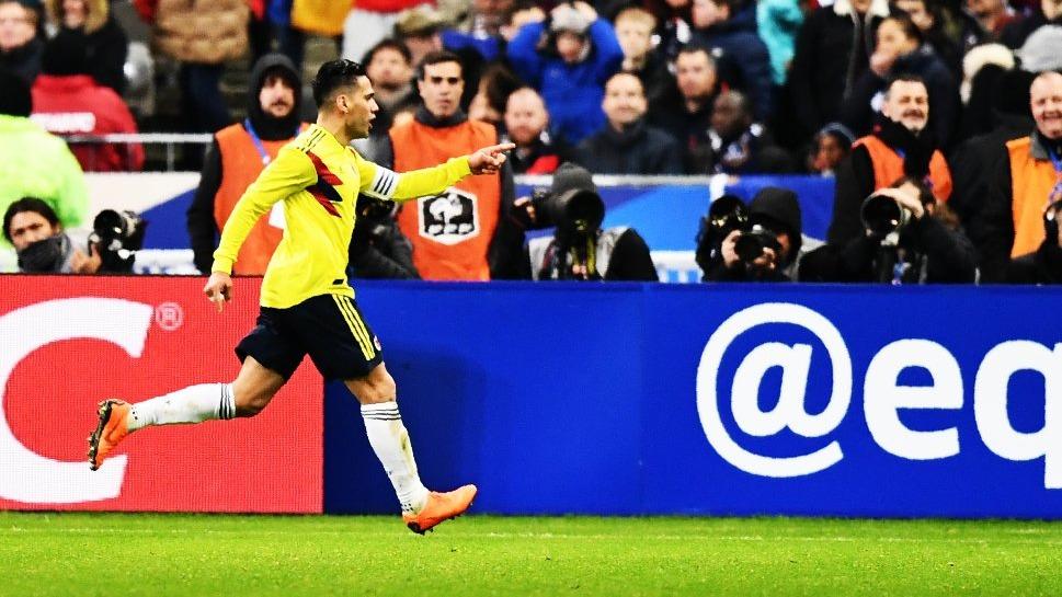 Radamel Falcao es el goleador histórico de la Selección de Colombia con 29 anotaciones.