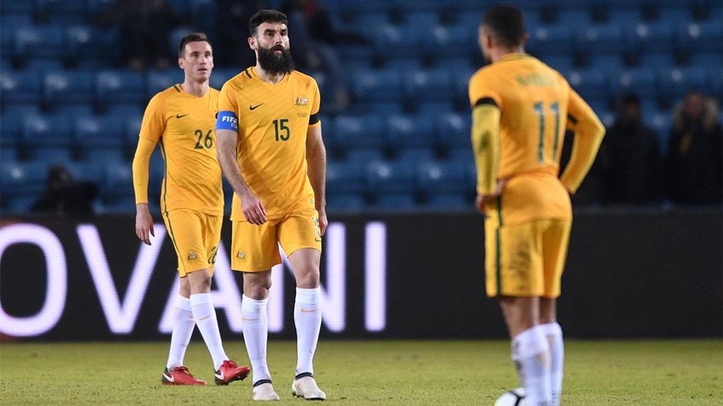Australia clasificó al Mundial tras sacar en el repechaje a Honduras.