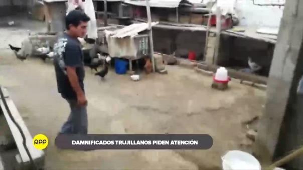 Familias que lo perdieron todo por los desbordes de la quebrada San Idelfonso esperan con urgencia ser reubicados.