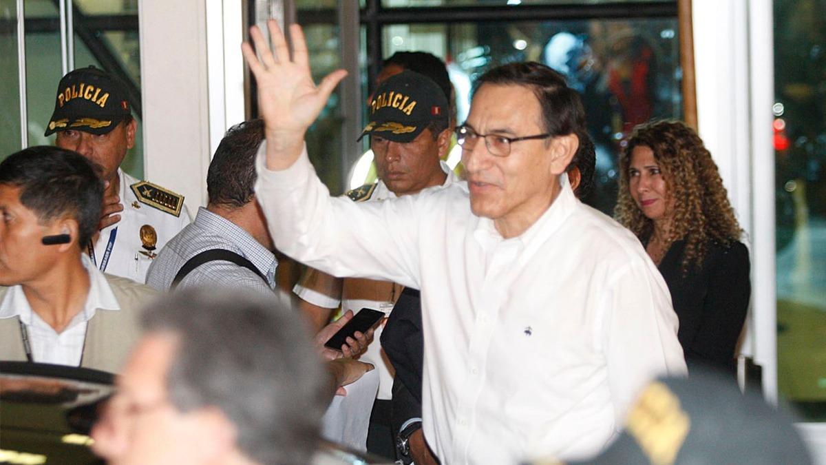 Martín Vizcarra llegó a Lima la madrugada de este viernes.