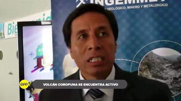 Revelan que el volcán Coropuna está activo y se hallan en riesgo cinco distritos de Castilla