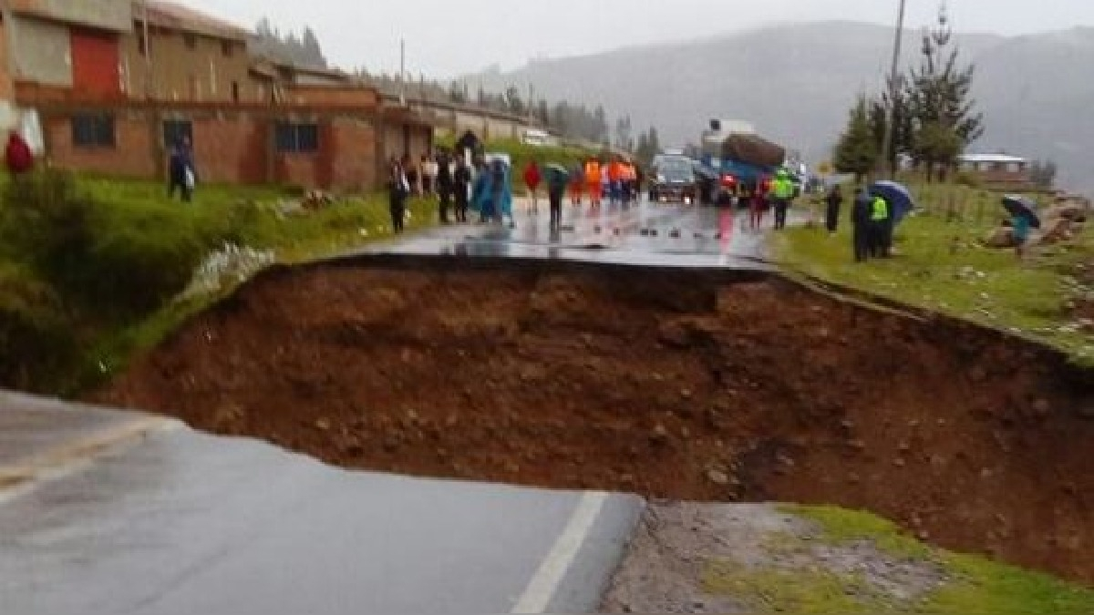Situación de la carretera Huaraz - Lima