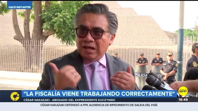 El abogado del expresidente comentó que el expresidente busca marcar una línea de transparencia.