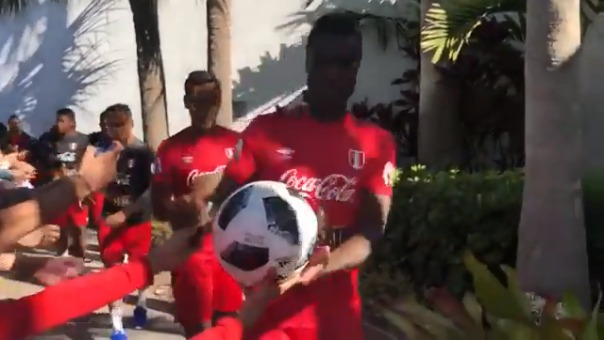 Christian Ramos fue el capitán de la Selección Peruana en el triunfo 2-0 ante Croacia.