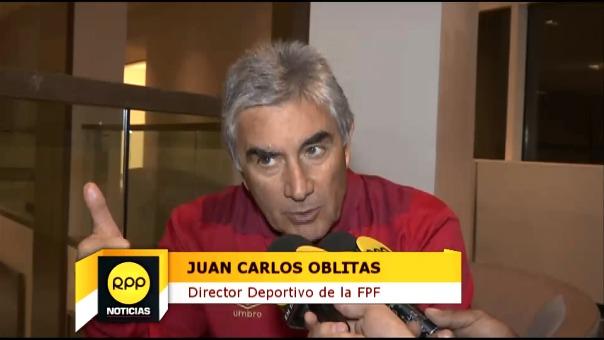 Juan Carlos Oblitas habló en exclusiva para RPP.
