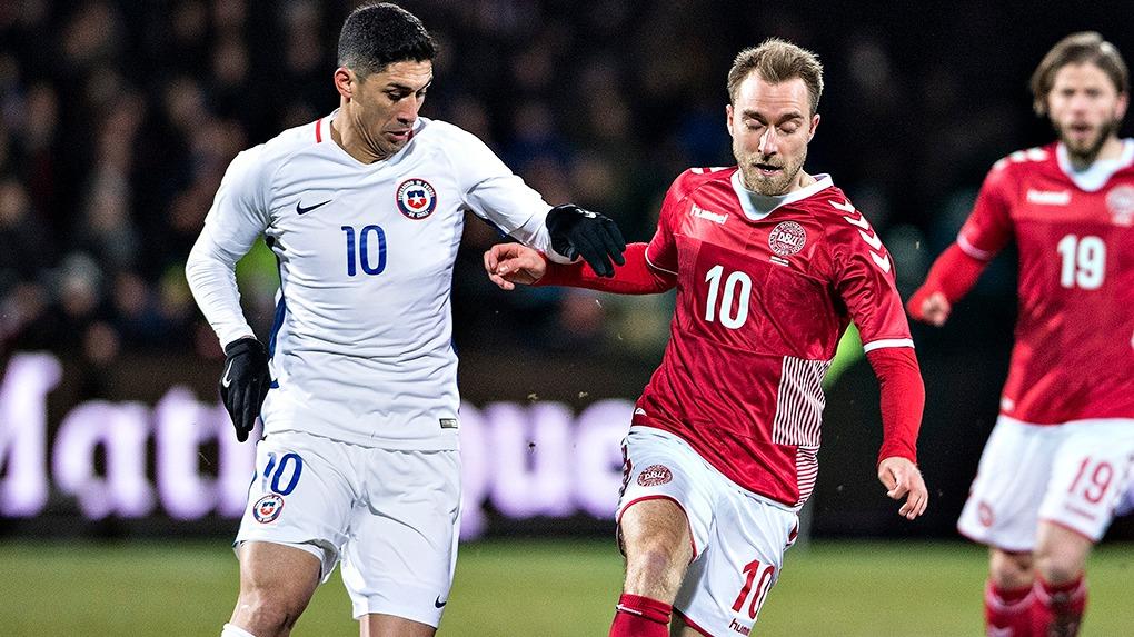 Dinamarca tiene a Christian Eriksen como figura.