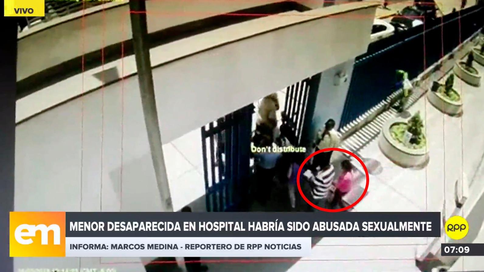 La menor desapareció del hospital Almenara, ubicado en La Victoria