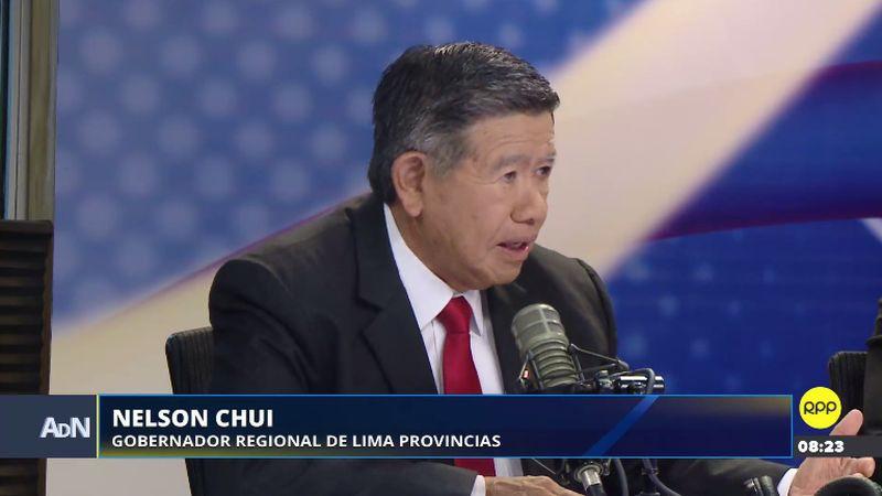 Nelson Chui estuvo esta mañana en Ampliación de Noticias.