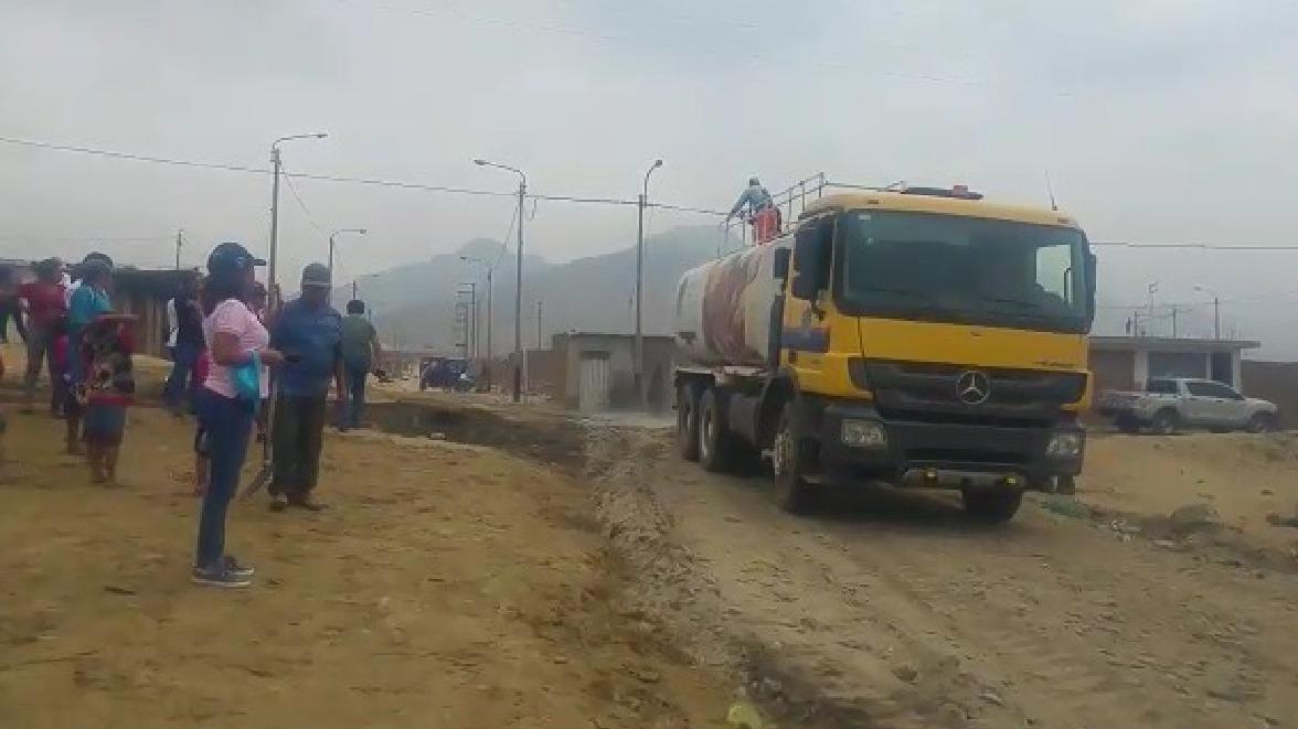 Alto Trujillo fue una de las zonas afectadas por el Niño costero.