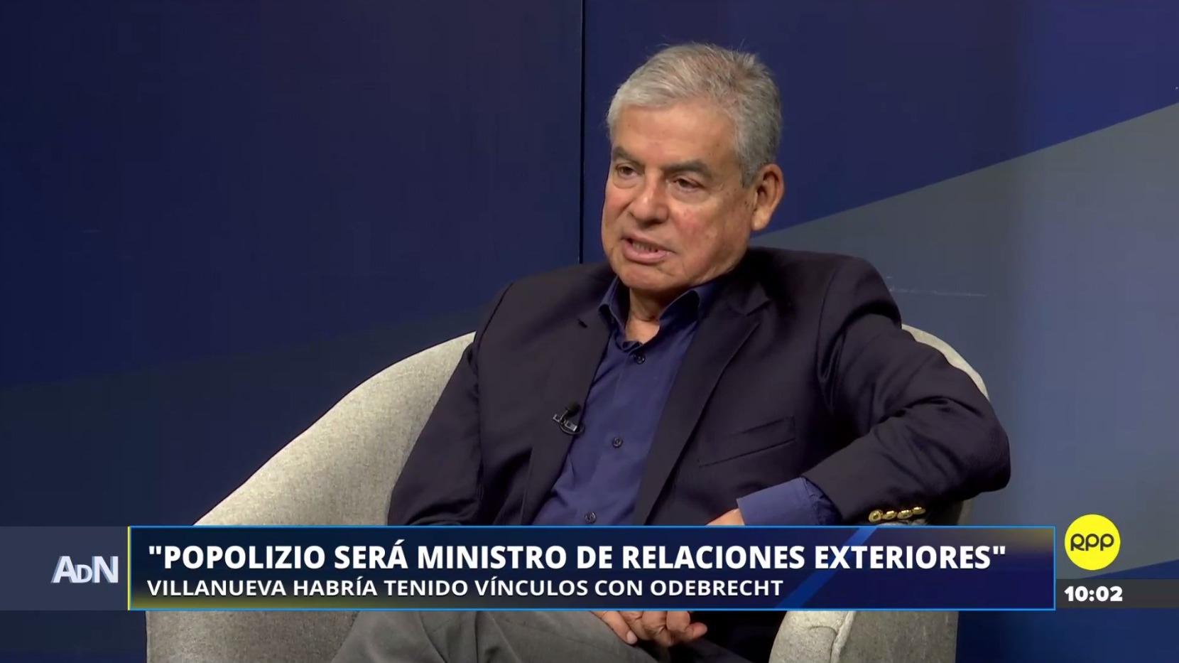 César Villanueva jurará este lunes como presidente del Consejo de Ministros.