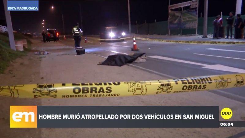 El trágico accidente ocurrió esta madrugada en la bajada Escardó.
