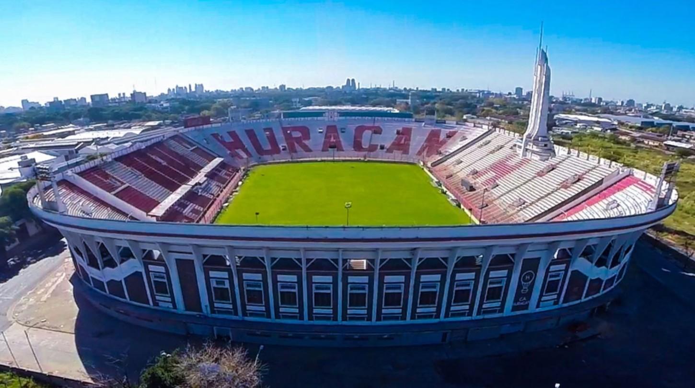 Así es el estadio de Huracán de Argentina.