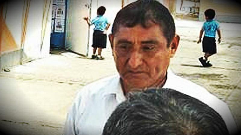 El director de la Institución Educativa 243 Esperanza Carrillo Peschiera en Ica se dio a la fuga, antes de que se diera a conocer su orden de detención.