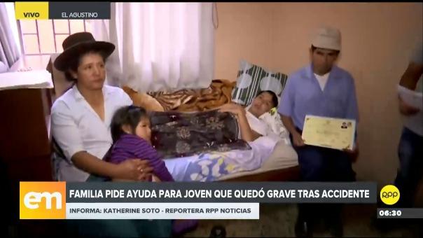 Familiares piden que el conductor del vehículo sea capturado y cumpla con la deuda en la Clínica donde permaneció internado hasta el día de ayer.