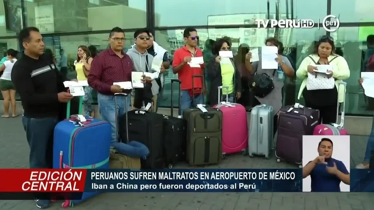 La Embajada de México en Perú aún no se ha pronunciado.