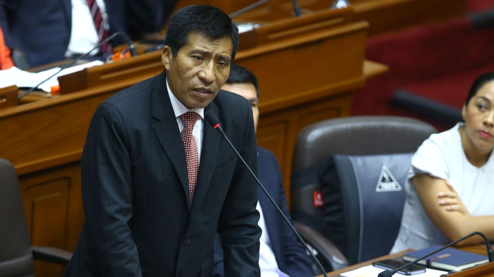 Amado Enco conversó con RPP Noticias sobre la denuncia contra el legislador Moisés Mamani.