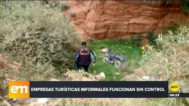 Este jueves se registró otro caso de este tipo en el Cusco: dos personas resultaron heridas en un accidente cuando iban en cuatrimoto.