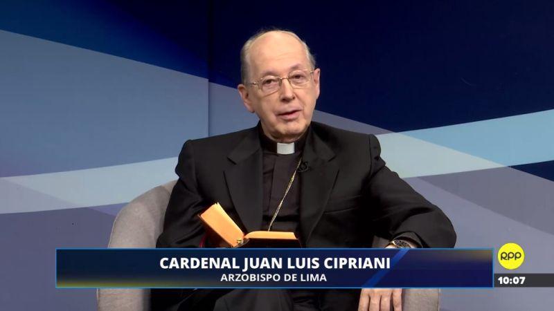 Juan Luis Cipriani estuvo esta mañana en Diálogo de Fe.