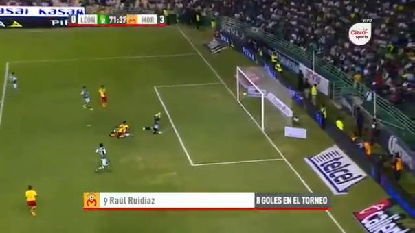 Raúl Ruidíaz se formó en las divisiones menores de Universitario de Deportes.
