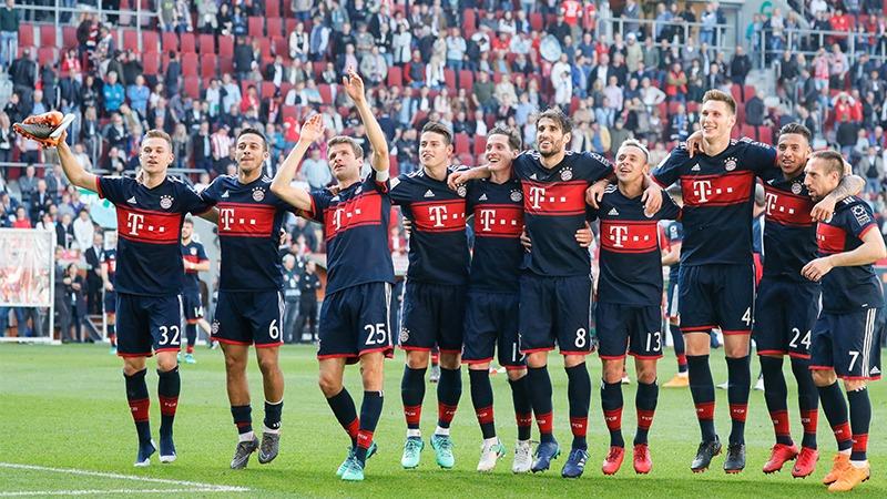 A falta de 5 fechas, Bayern Munich se consagró campeón en la Bundesliga.