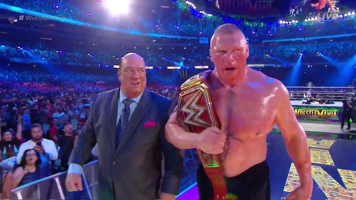 'La Bestia' derrotó a Reigns por el título Universal WWE.