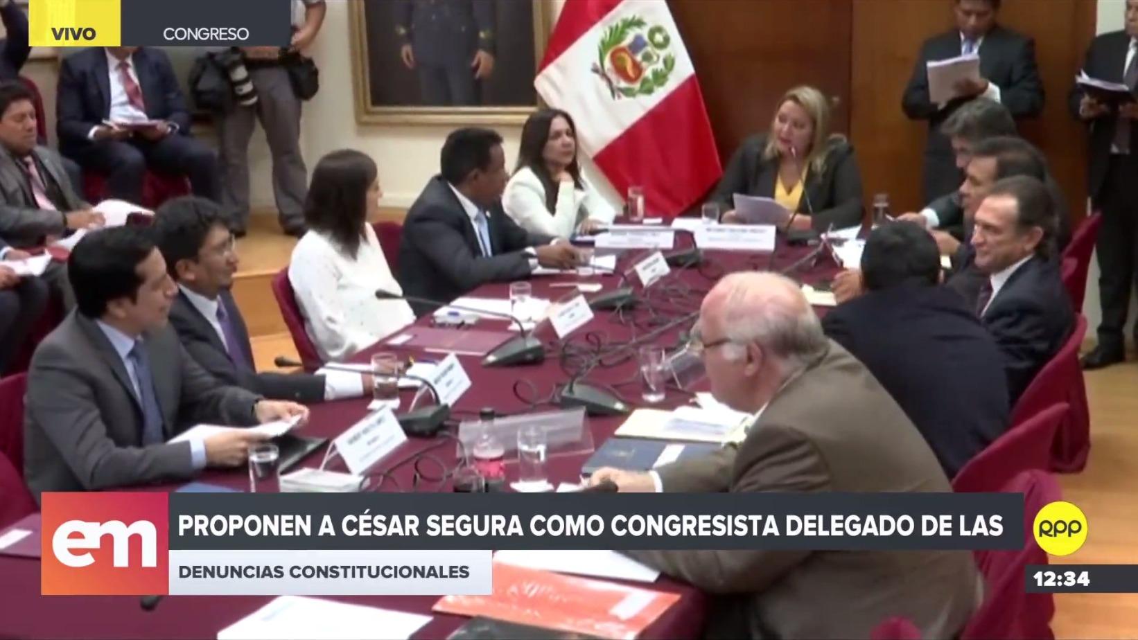 Subcomisión de Acusaciones Constitucionales definió quién dirigirá investigación contra Kenji Fujimori.