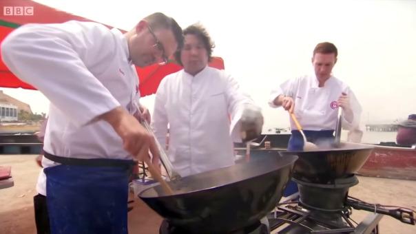 La semifinal de Master Chef UK se realizó en Lima, Perú.