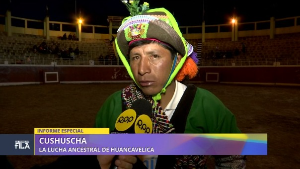 Informe televisivo de la ancestral Cushuscha
