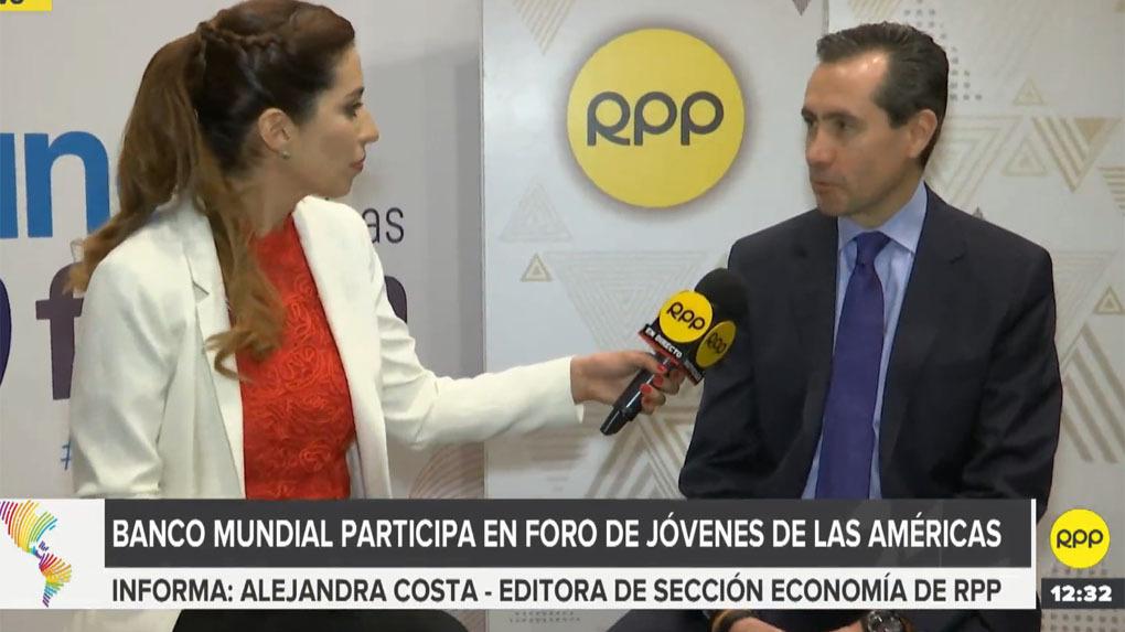 Banco Mundial: Perú tiene perspectivas positivas pese a cambio de gobierno.